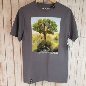 Lifted Research Group LRG NWT Gray Tshirt sz Small